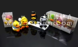 anti dust plug for phone Cute yellow duck dust proof plug for iPhone