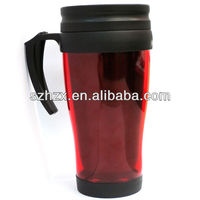 Hot sell double wall plastic disposable tea cup