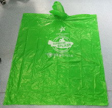 Promotional biodegradable customized disposable LDPE light weight rain poncho