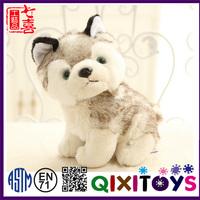 Christmas dogs toys soft plush husky for sale