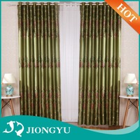 JIONGYU Factory price Printed voile tab top curtain panel