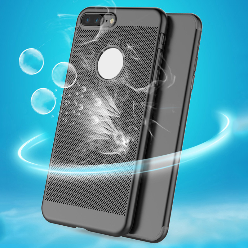 For iphone 7 Case For iphone 7 plus, Fashion Honeycomb Dot Hard PC Back Cover Case For iPhone 6 6s