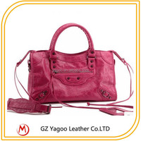 CHEAP wholesale women oil leather handbags order from china direct