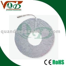 Round Breast self adhesive electrodes pads for breast massager