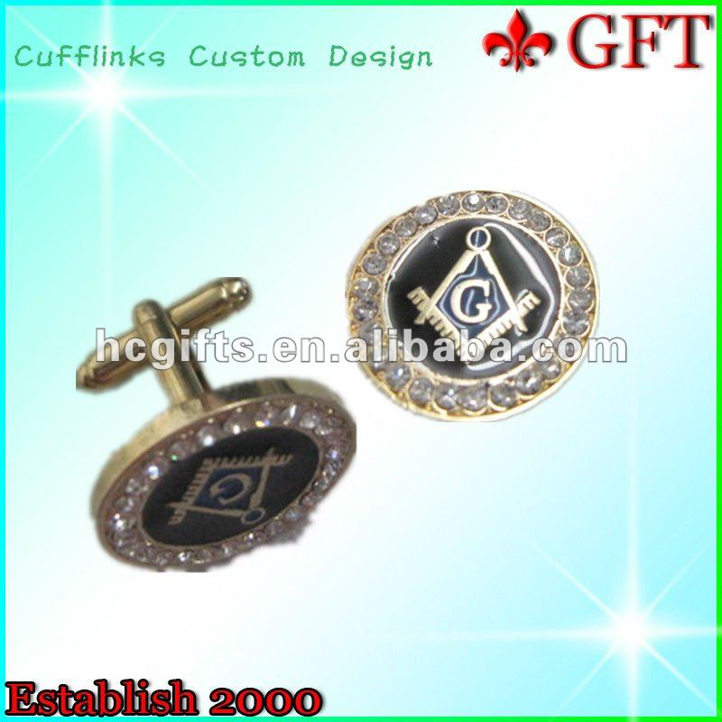 New style custom cuff link with box