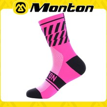 High quality sport socks manufacturer Coolmax cycling socks with best price