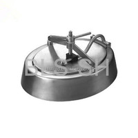 Sanitary food grade stainless steel tank manhole