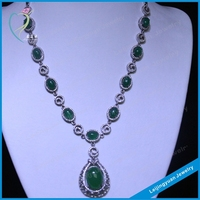 China factory 925 sterling silver necklace jewelry