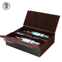 Eco-friendly Fashionable 2 bottle wine box