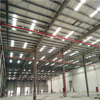 Export To Singapore Large Span Design Prefabricated Steel Structure Warehouse