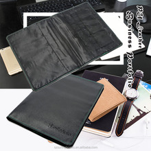 High Quality Ultra Slim & Light A4 Leather Organizer Portfolio