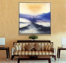 Sunrise Seascape Popular Modern Wall Art 100% Hand painted Abstract Oil Painting On Canvas