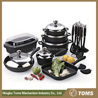 22PCS High quality kitchenware and cookware