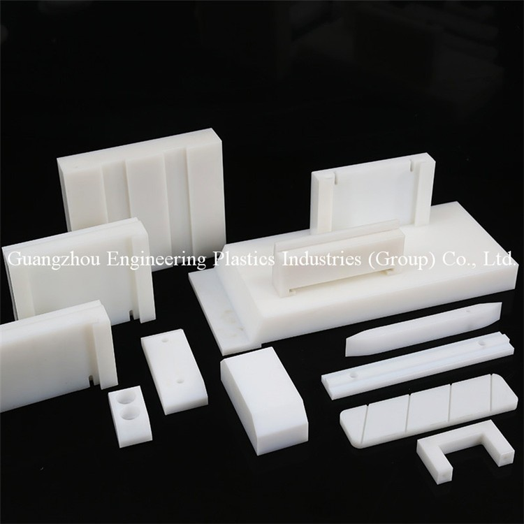 Engineering plastic products factory custom pe1000 UHMW-PE plastic injection molding parts