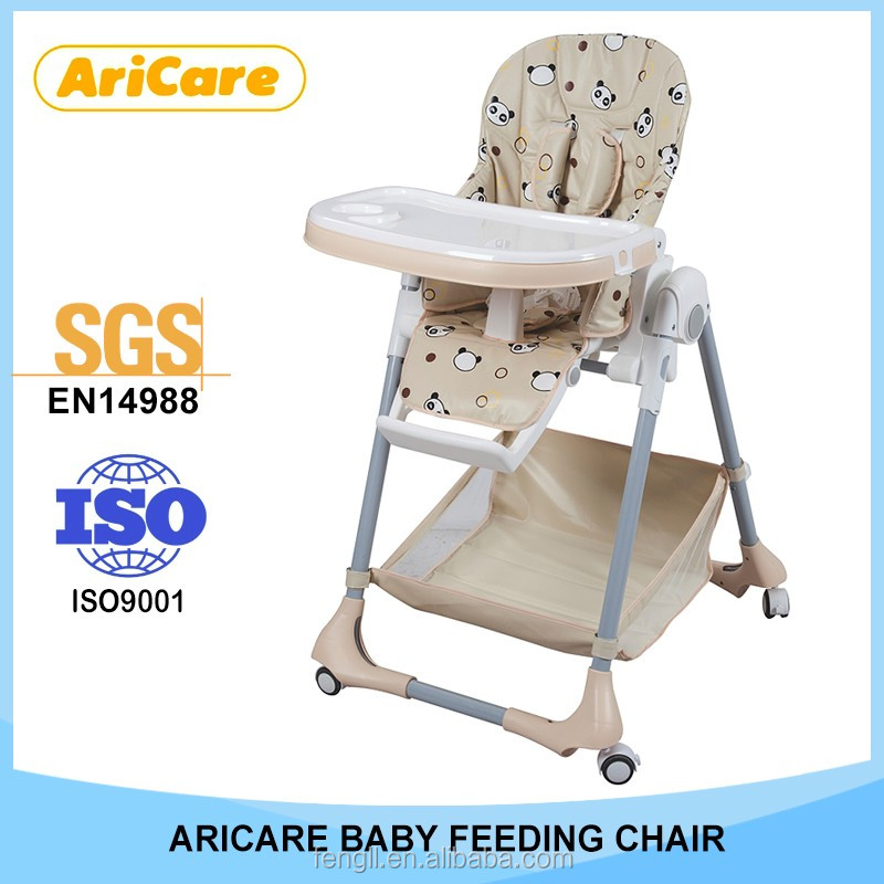Kids Furniture Baby Dining High Chair Eco-friendly Material