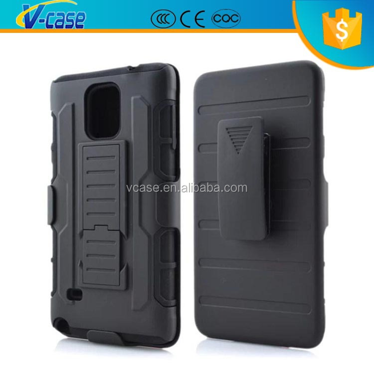 Hybrid Robot Armor Hard Case Cover 3 in 1 With Belt Clip Holster Kickstand Combo Stand Silicon+PC For Samsung Galaxy Note 3