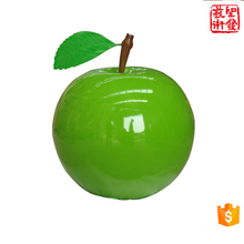 Large Modern Arts Abstract Stainless Steel fruit Apple Sculpture for Outdoor decoration