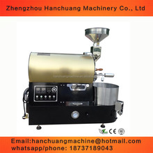 Automatic electric 1kg 2kg 3kg 5kg 6kg coffee bean roaster roasting machine commercial cocoa bean baking machine