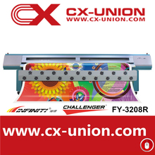Infinity FY-3208R automatic flex banner printing machine eco solvent inkjet printer