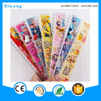 High quality drafting supplies stationery plastic letter stencil ruler
