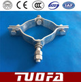 hold hoop/stay clamp /pole clamp /double suspension clamps for overhead line fittings