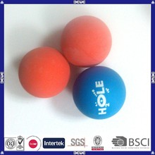 OEM logo good quality high elasticity rubber ball