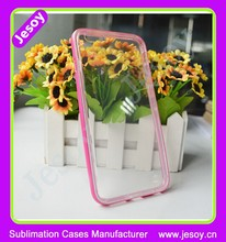 JESOY New Products Cell Phone Cases, TPU PC Case For iphone 6 Plus Mobile Phone