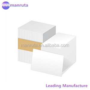 leading manufacture Blank Double Side Printable Inkjet Pvc Card