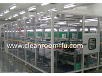 Soft Capsule Cleanroom Integrated with Air Shower