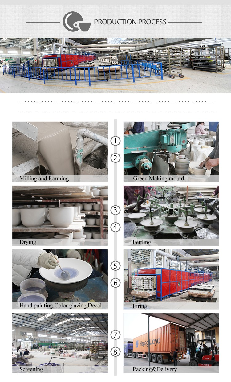 20pcs wholesale chinese porcelain ceramic tableware with matt color