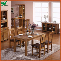 Modern Home Design Dining Room Oak Wood Furniture with Dining Table,Dining Chair