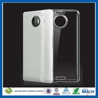 C&T 2015 New design ultra thin transparent clear tpu gel silicone case for microsoft nokia lumia 950 xl