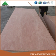 3'x7'door skin plywood Bintangor face back with poplar core plywood to USA