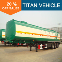 Titan tri-axle stainless 40000 litres road fuel tanker trailer for dimensions