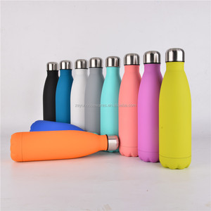 Wholesales double wall vacuum insulated stainless steel thermos flask bottle / thermos vacuum flask manufacturer