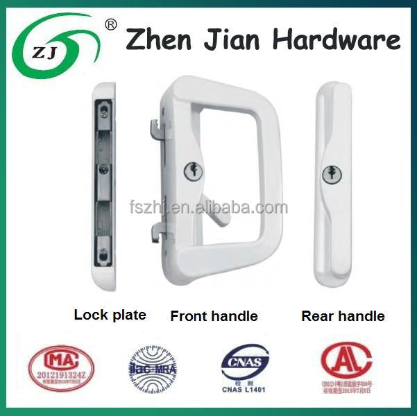 European handle lock style -- Big size + High security handle lock sets for aluminum/UPVC doors