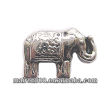 in stock, Glass floating memory locket elephant charms assort floating charms(FC-133)