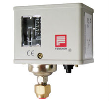 Automatic reset single pressure control switch