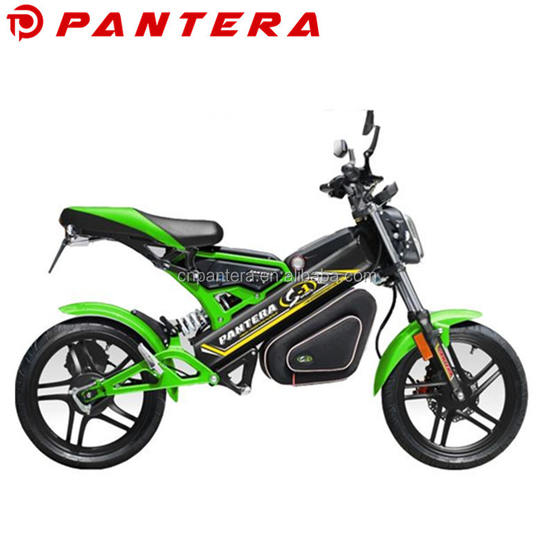 Brushless 1500w 48v Fast Speed EEC Electric Motorcycle Foldable