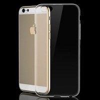 soft tpu clear case for iPhone 6 plus transparent 4.7 or 5.5
