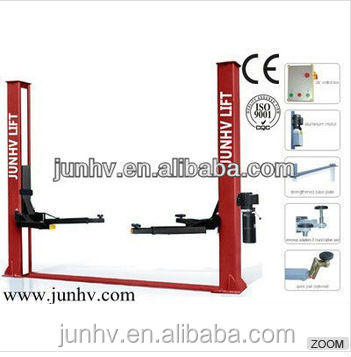 2 post hydraulic car lift 2 sides manual release car lift auto lift