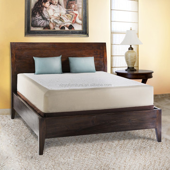 Hot Sale Solid Oak Wood Bedroom Bed Latest Double Bed Designs Modern