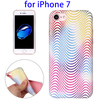 Rainbow Textures TPU Back Cover Phone Case for iPhone 7 Mobile Phone Accessories