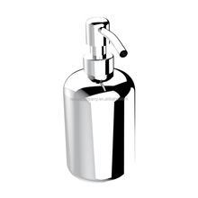 Custom Wall Mount Stainless Steel Bracket Liquid Bathroom Accessory Metal Soap Dispenser