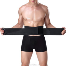 Neoprene back support brace with steel
