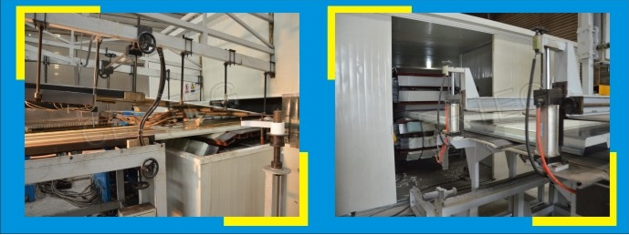 Polyurethane(PU) sandwich panel for cleanroom partition wall and ceiling