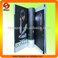 Hot sale perfect binding fashion magazine
