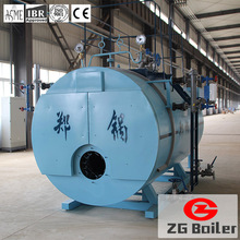 WNS oil gas water boiler low cost high quality hot water boiler
