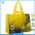 customized lemon laminated nonwoven tote bag