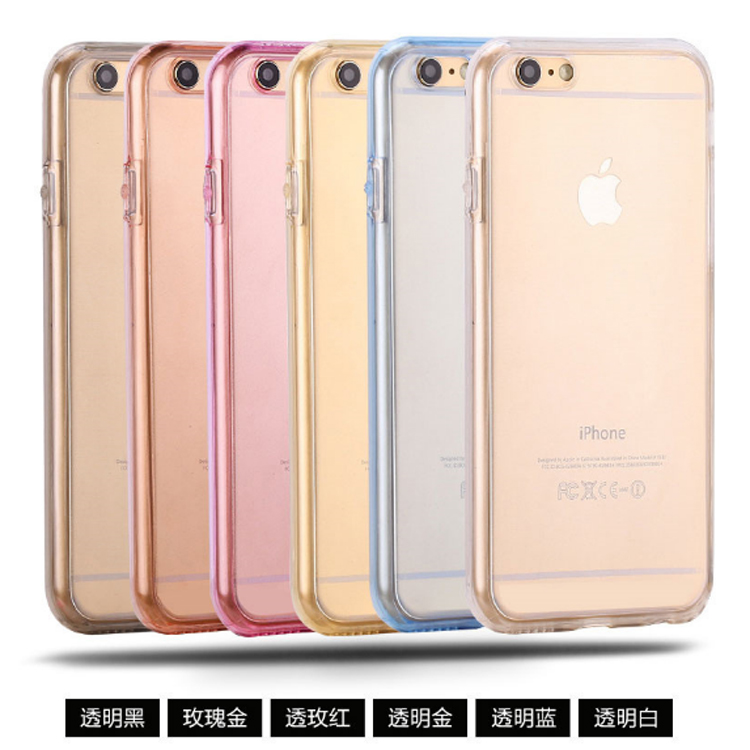4.7 inch phone Clear transparent cover for iphone 6 Full Cover
